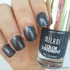 Milani Swatches - Charcoal Charm | Jessi Brownie Blog