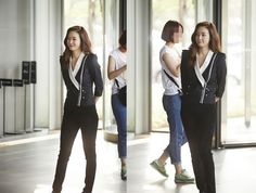 """""""Temptation"""" - Choi Ji Woo - a completely different look behind-the-scenes"""