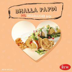 Swad Jo Dil Ko Lalchaye  BTW Special Bhalla Paadi! #Food #Foodie #FoodPic #IndianFood #FoodRecipe #Recipe #Spicy #FoodAlert #Foodgasm #Foodporn