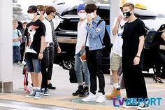 [Press Photo] BTS @ 150615 Incheon Airport on their way to KPOP CONCERT LIVE IN YANGON - MYANMAR