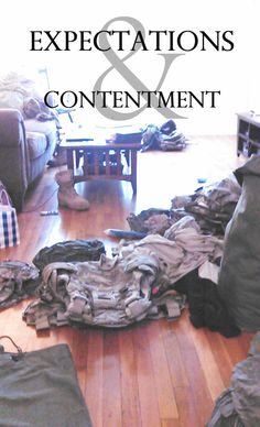 Very open and expressive blog post by a milspouse facing deployment & taking stock of what she has. Read this. =  thecrisis | EXPECTATIONS AND CONTENTMENT
