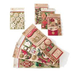 Anna Griffin® Christmas 3D Stickers 80-piece Set at HSN.com.