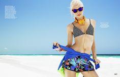 aliele6 Elle Austrália Novembro 2013 | Aline Weber por Ben Watts  [Editorial]