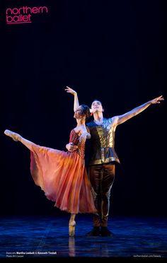 Martha Leebolt & Kenneth Tindall as Beauty & Prince Orian. Photo Bill Cooper.