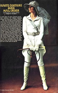 Biba couture range (featured in the Observer Magazine, 19th January 1969)