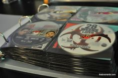 How to Save Space by using a DVD Binder Organization System - The Love Nerds