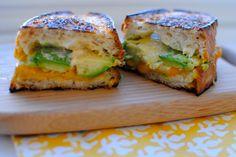 Grown Up Grilled Cheese (See Jane Make) via See Jane / @Anna Totten Jane Wisniewski