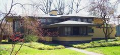 Walter V. Davidson House / 57 Tillinghast Place, Buffalo, NY / 1908 / Prairie / Frank Lloyd Wright