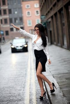 Taxiiiiiiiiiiiiiiii !!!!!  sexy woman with high heels shoes