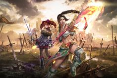 hilde from soul calibur drawings - Google Search