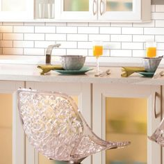 Create a subway look with Classic Subway StickTILES by RoomMates. Peel & stick, cut where needed and create this trendy look!