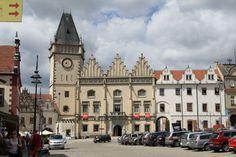 Tábor - town hall, Czech republic