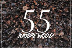 55 Nature Wood by MAGOO STUDIO on Creative Market