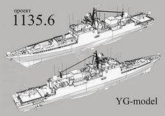1135.6 タルワー級 フリゲート艦:艦船・船舶・飛行機・自動車・歴史的建築物・AFVのペーパークラフトと模型部品の販売 モデルシップ ジェイピー(Modelship.jp):Modelship.jp