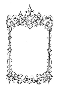 The Sum Of All Crafts: Elegant Frames