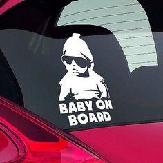 SpongeBob Baby On Board Funny Novelty Car Bumper Window Sticker - Spongebob car decals