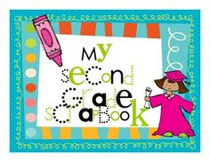This is a monthly scrapbook for the whole second grade year. On each page, students write about the given writing prompt and illustrate it. I moun. Work On Writing, Writing Classes, Math Work, Writing Workshop, Teaching Writing, Writing Activities, Writing Ideas, Writing Prompts, Teaching Ideas