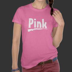 Pink Gun Shirts #pink