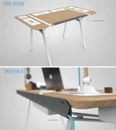 Clear the Clutter: Modular Desk for the Storage-Obsessed Read more: http://dornob.com/clear-the-clutter-modular-desk-made-for-the-storage-obsessed/#ixzz2l7UQCIl9