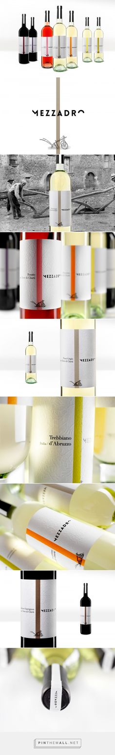 Mezzadro Wines - Packaging of the World - Creative Package Design Gallery - http://www.packagingoftheworld.com/2016/08/mezzadro-wines.html