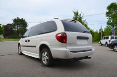 Rear Left Side View of the 2006 Dodge Grand Caravan SE with a Braun Entervan Conversion For Sale