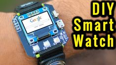 How to Make a Smartwatch DIY - home design How to make Smartwatch at home - Arduino Laser, Arduino Wifi, Arduino Programming, Robotics Projects, Pi Projects, Arduino Projects, Electronics Projects, Electrical Projects, Smartwatch