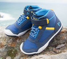 introducing kaiden, the mini-mountaineer - this hiking shoe is for the kid who hungers for new heights!