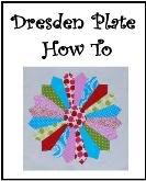 Boutique NutMeg Designs: Dresden Plate Quilting Photo Tutorial