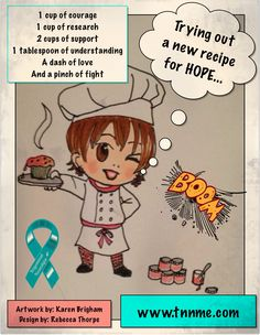Trigeminal Neuralgia recipe for HOPE... 1 cup of courage 1 cup of research 2 cups of support  1 tablespoon of understanding  A dash of love And a pinch of fight #TrigeminalNeuralgia  #TrigeminalNeuralgiaAwareness #TNnME #itnaf #HOPE