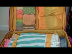 How to pack a suitcase. Top tips and life hacks to make packing a suitcase as quick and efficient as possible. Solve common travel problems and learn new pac. Suitcase Packing, Packing Tips For Travel, Travel Hacks, Packing Tricks, Pack Suitcase, Travel Ideas, Packing Ideas, Travel Checklist, Giada De Laurentiis