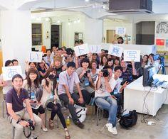 2012/09/07第2回目の写真講座で部員の写真。実はこれ2分割して撮ったものをくっつけた写真なのです。
