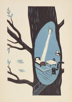Illustration by H. Rembowska and H. Bielińska (design),1950.