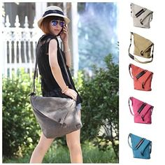 LEISURELY Foldover Crossbody Bag In 6 Colors #VistaShops
