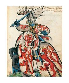 Jean Lefèvre de Saint-Rémy: a great Luxembourg piece from le Grand Armorial équestre de la Toison d'or