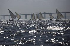 """Antibiotic resistance (KPC) - Rio 2016 Olympic Games. A drug-resistant """"super bacteria""""   discovered in the waters where Rio de Janeiro's Olympic sailing events will be held, scientists with Brazil's most respected health research institute said Monday Dec. 15, 2014. (AP Photo/Felipe Dana) http://www.biosciencetechnology.com/news/2014/12/super-bacteria-found-rios-olympic-waters?et_cid=4321040&et_rid=650445760&type=cta"""