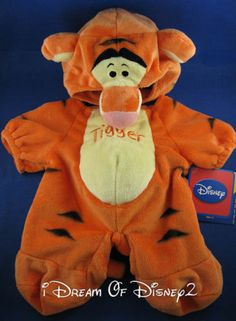 NEW Disney Tigger Winnie THE Pooh Build A Bear Plush Teddy Costume 2 PC Outfit | eBay pour mon Duffy !