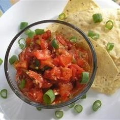 "Fresh Tomato Salsa | ""It doesn't get any easier or fresher than this!"""