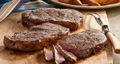 Cracked Peppercorn Marinated Steaks: This robust marinade produces a wonderfully complex flavor for steak that's sure to have everyone clamoring for more!