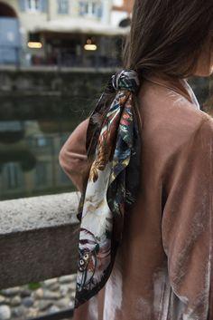 66 meilleures images du tableau Comment porter un foulard   How to ... 50a0d34ffdd
