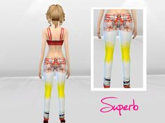 McLayneSims' Multicolor Spider Print Jeans