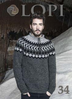 - Icelandic Lopi Pattern Book No. 34 - Book - Nordic Store Icelandic Wool Sweaters