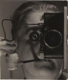 Maurice Tabard, Self-portrait,1936. S)