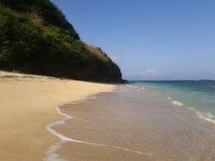 secret beach in bali, even there's no warung around here