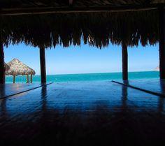 #Bahia #Kino #Playa #Naturaleza #Atardecer #Sonora #México #Mar #Palapa #Mar #Azul #Agua