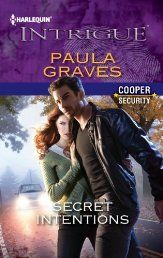 Although he was trying to crack a global conspiracy, former soldier Jesse Cooper had an even more important mission: keep new hire and girl-next-door Evie Marsh safe. Shocked to learn Evie could be the key to bringing down this secret plot, the head of Cooper Security had to stifle his attraction to her. After all, the case was on the line—and so were their lives. But between dodging bullets and staying one step ahead of the enemy, temptation became impossible to resist.