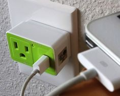 Travel USB Surge Protector By Satechi/ Satechi USB Surge Protector provides protection from electrical spikes and surges that can be devastating to both expensive electronic equipment and valuable data. http://thegadgetflow.com/portfolio/travel-usb-surge-protector-by-satechi/
