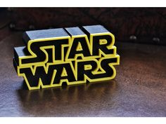 """After the FPGA Wars alternative design: http://www.thingiverse.com/thing:1987537 some people ask me for the original Star Wars design. This design is formed by two divided pieces. Perfect for geek's houses! You will need black and yellow filament (or just use acrylic paint). I used the """"stop at height"""" Cura plugin to change the filament to yellow. With the original file I reccomend to stop at height 37 mm (with a total height of 40 mm) The result in my opinion i..."""