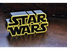 Logo Star Wars - ThingsCreators.com