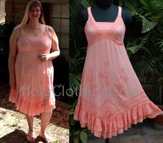 Anna looking lovely in her Pink Rose ROXY dress