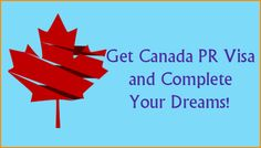 Get Canada PR Visa and Complete Your Dreams! Relocating Canada  with a Permanent Resident Visa offers ample opportunities and various benefits to every migrants. Canada is the most preferred by every enthusiast migrants who decides to relocate just with the hope of starting a new life and a fresh career. If you are wishing to migrate Canada with Permanent Residency Visa then contact Immigration Overseas. #PRVisa #Canada #ImmigrationOverseas
